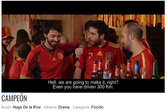 """campeon - """"Campeón"""" el cortometraje alcazareño entre los mejores de España en el 7º FIBABC"""
