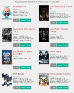 cartelera cinemancha 238x300 - Cartelera Cinemancha del viernes 28 de abril al jueves 4 de mayo