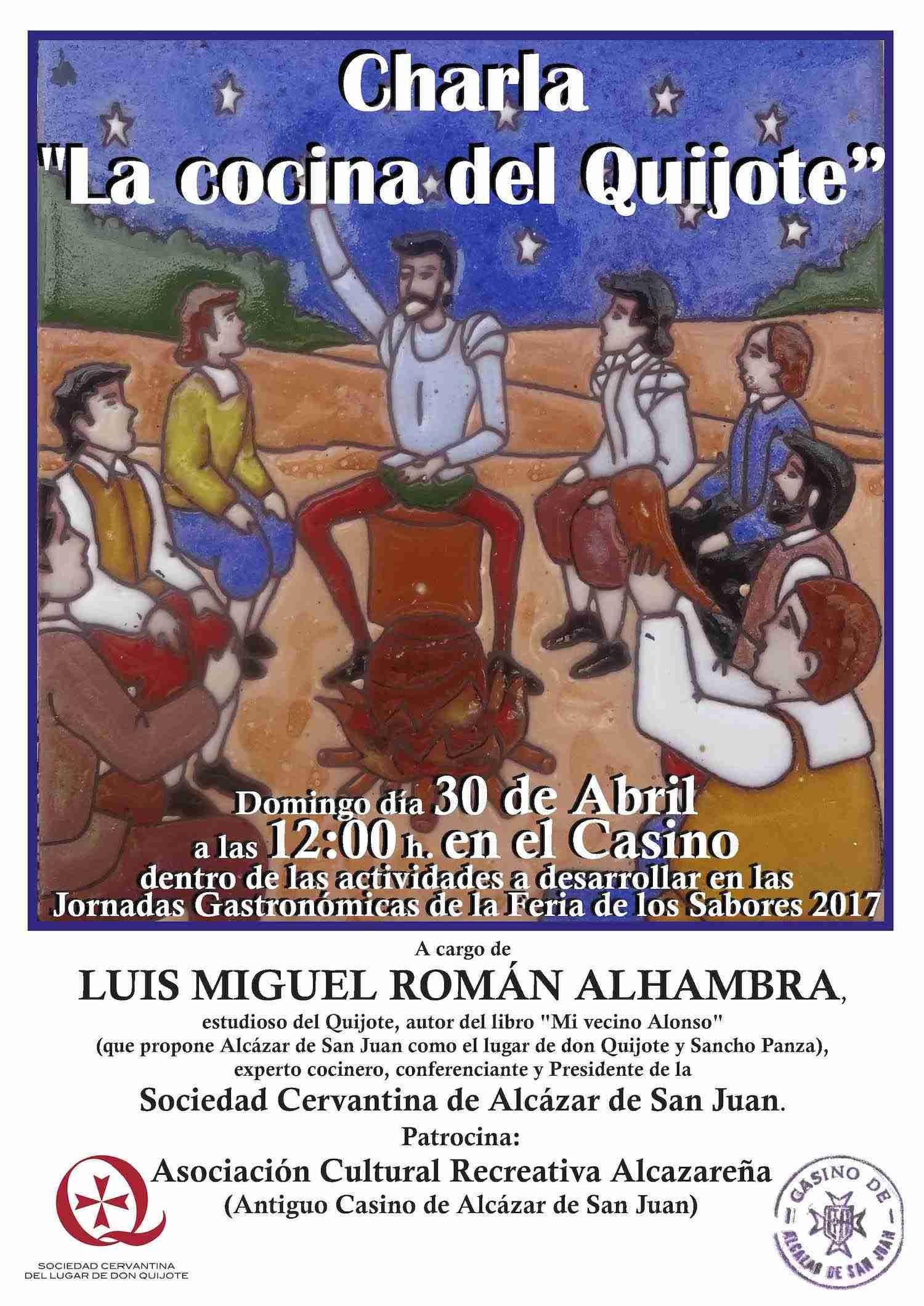 Luis Miguel Román Alhambra habla sobre La cocina del Quijote