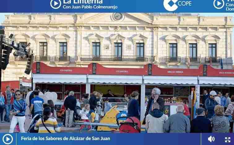 """El programa """"La Linterna"""" de la cadena Cope recomienda """"La Feria de los Sabores"""" 1"""