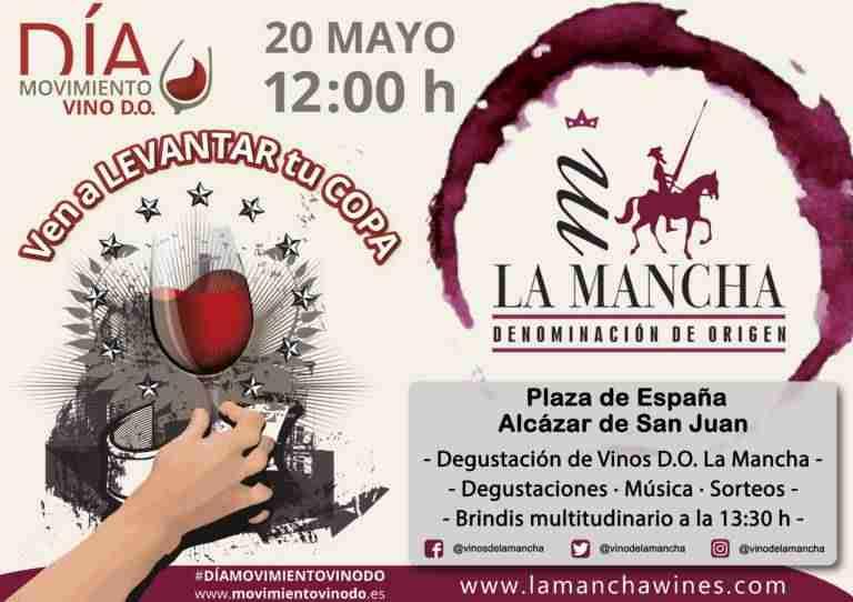 brindis dia delvino do - El 20 de  mayo brindis colectivo del Día del Movimiento vino de DO