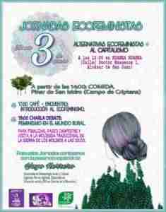 Jornadas Ecofeministas - Alternativas ecofeministas al capitalismo 1