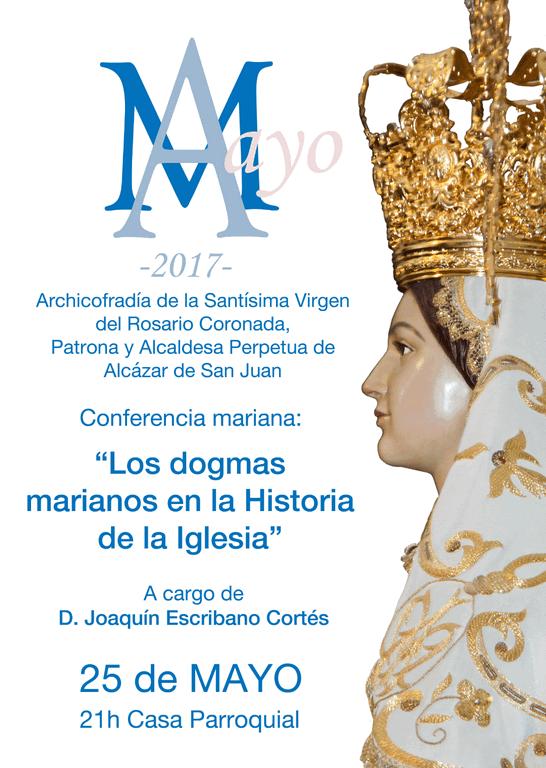 """Conferencia Mariana """"Los Dogmas Marianos en la Historia de la Iglesia"""" 1"""