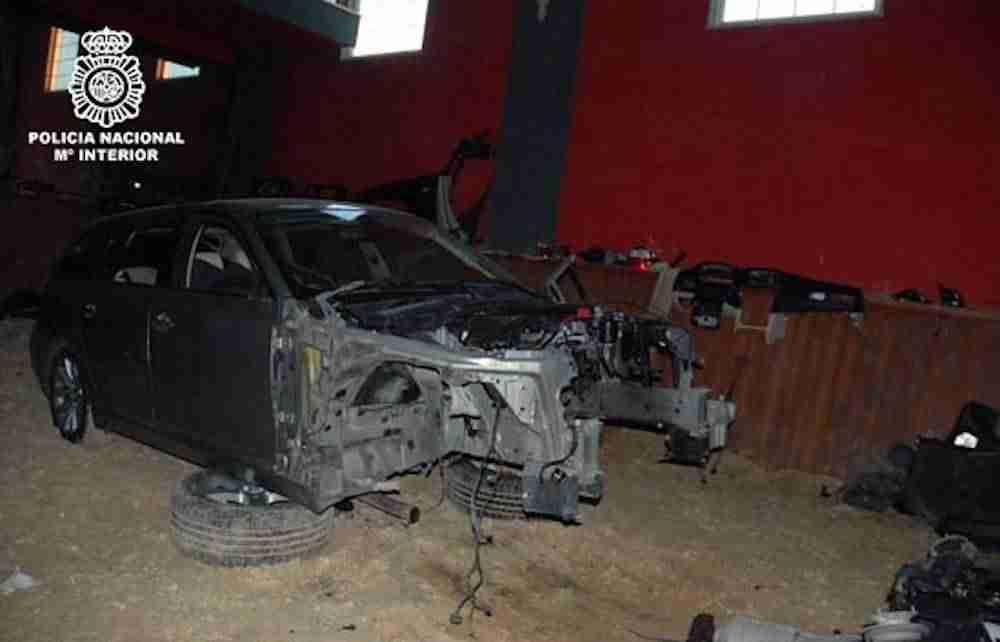 Desarticulado un grupo criminal dedicado al desguace y posterior venta de coches de alta gama en Alcázar 1