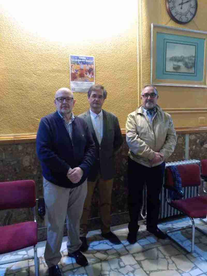 Documentada y pedagógica conferencia de Luis Miguel Román Alhambra sobre La Cocina del Quijote 1