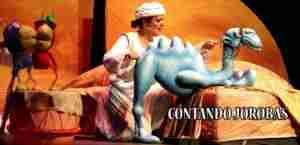 contandojorobas 300x145 - Turno para la Compañía Búho Teatro, en el Festival Títeres del Hidalgo.