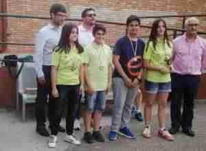 El equipo sub-18 de Nuestro Ajedrez por la Igualdad quedó 3º