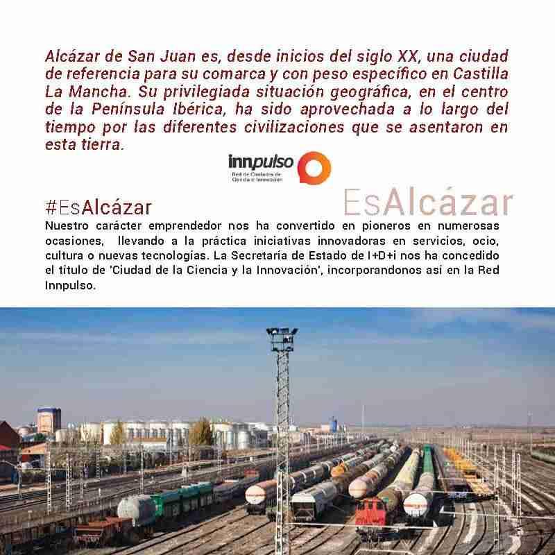 Folleto de información #EsAlcázar sobre Alcázar de San Juan (Ciudad Real)