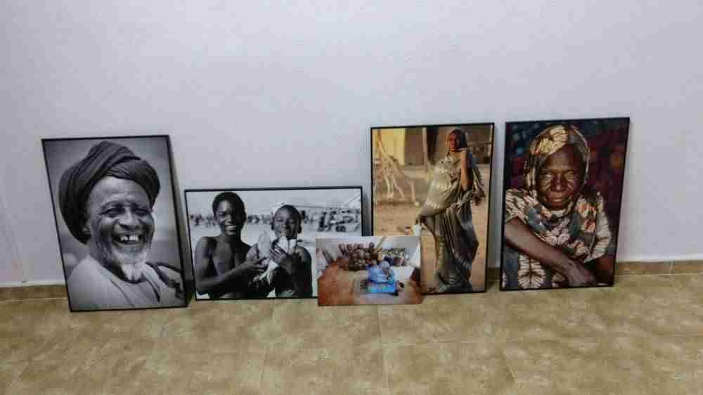 """exposicion africa - África se acerca al IES Juan Bosco con la exposición """"Etnias del Sahel"""""""
