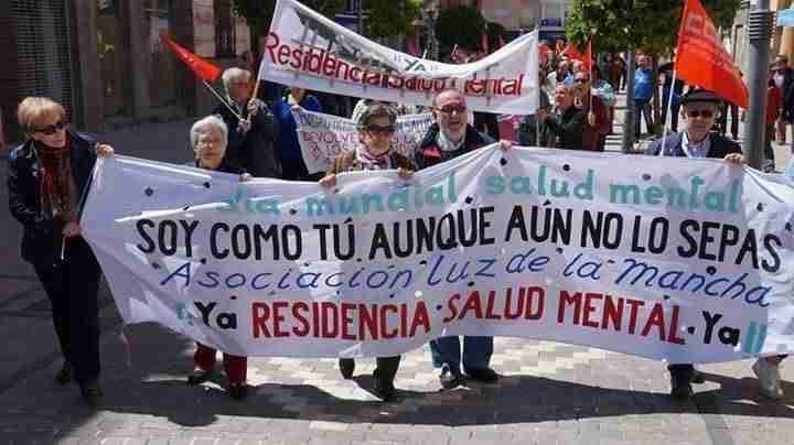 luz de la mancha manifestacion 1 mayo - Luz de la Mancha también estuvo presente en las manifestaciones del 1 de mayo