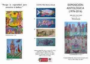 """Marchante presenta """"Exposición Antológica (1976-2016)"""" en el Museo Municipal 2"""