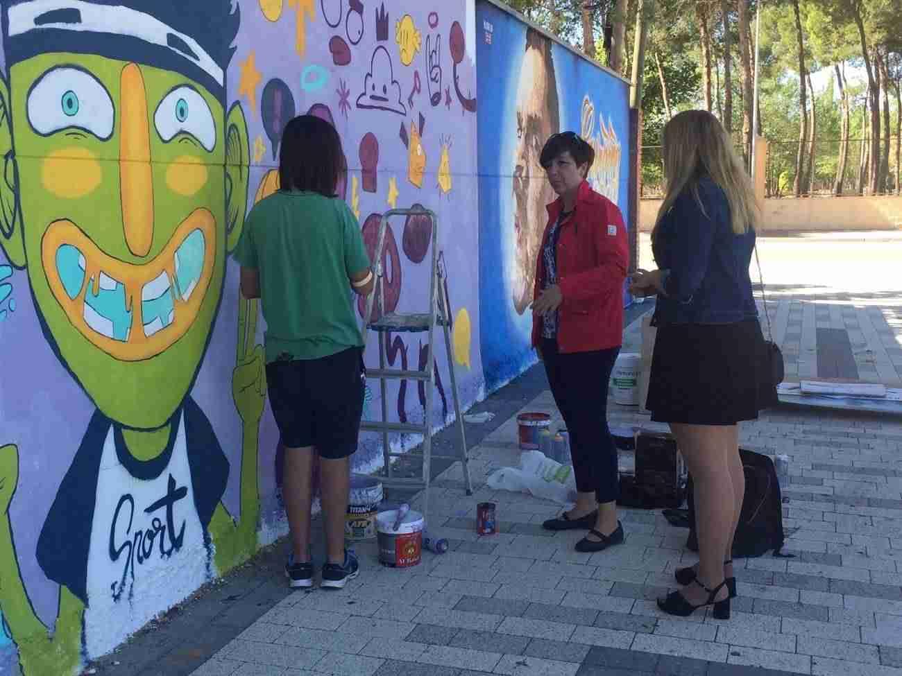 muestra arte urbano alcazar 1 - Fotografías de la Muestra de Arte Urbano en Alcázar