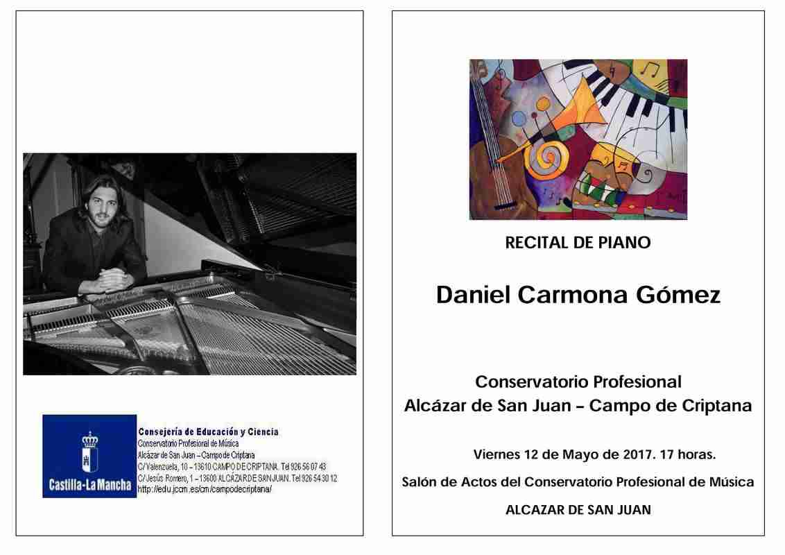 recitalpiano - Recital de piano por Daniel Carmona Gómez