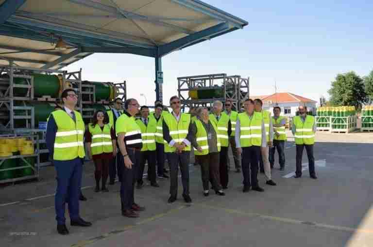 Bodegueros de las DO de vinos de Castilla-La Mancha celebran 120 aniversario de Carburos Metálicos en Valdepeñas