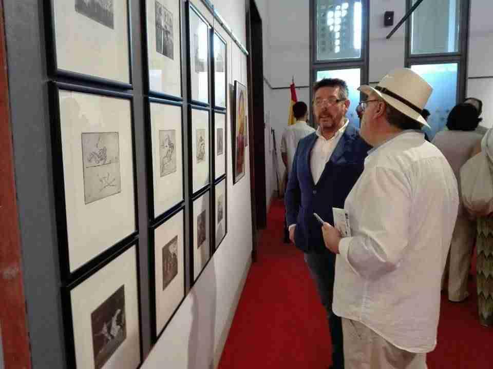 Exposición Oro y Plata, tauromaquias en la obra de Isidro Parra 1