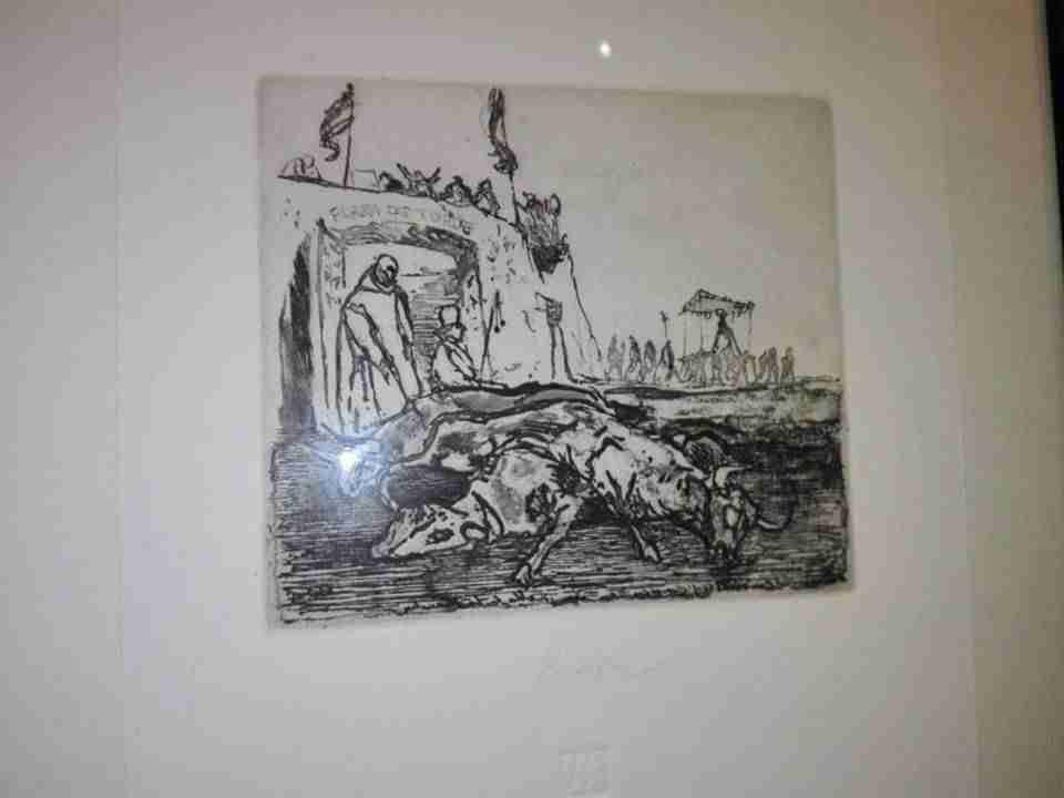 Exposición Oro y Plata, tauromaquias en la obra de Isidro Parra 3