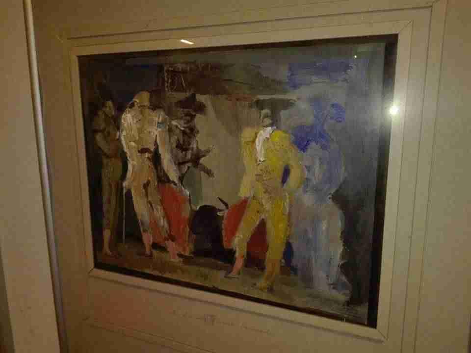 Exposición Oro y Plata, tauromaquias en la obra de Isidro Parra 4