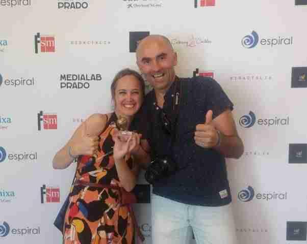 """Ganadores de """"Peonza de Oro"""" en Premios #EspiralEdublogs"""