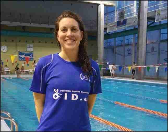 Nadadora Helena Rubio