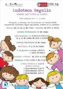 ludotecaregaliza 212x300 - LUDOTECA Verano 2017: Regaliz (Colegio Alces) y Rayuela (Cruz Roja)