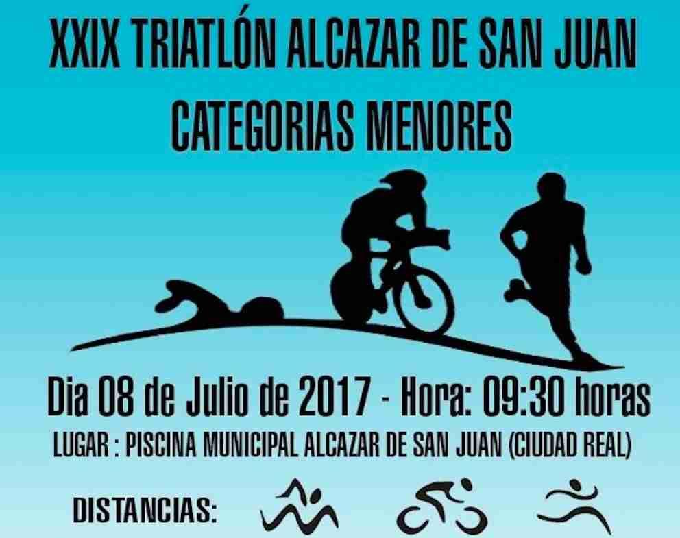 Xxix triatl n menores de alc zar de san juan for Piscina alcazar de san juan