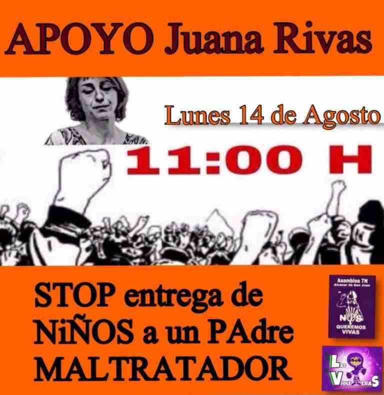 La asamblea 7N de Alcázar de San Juan muestra su apoyo a Juana Rivas