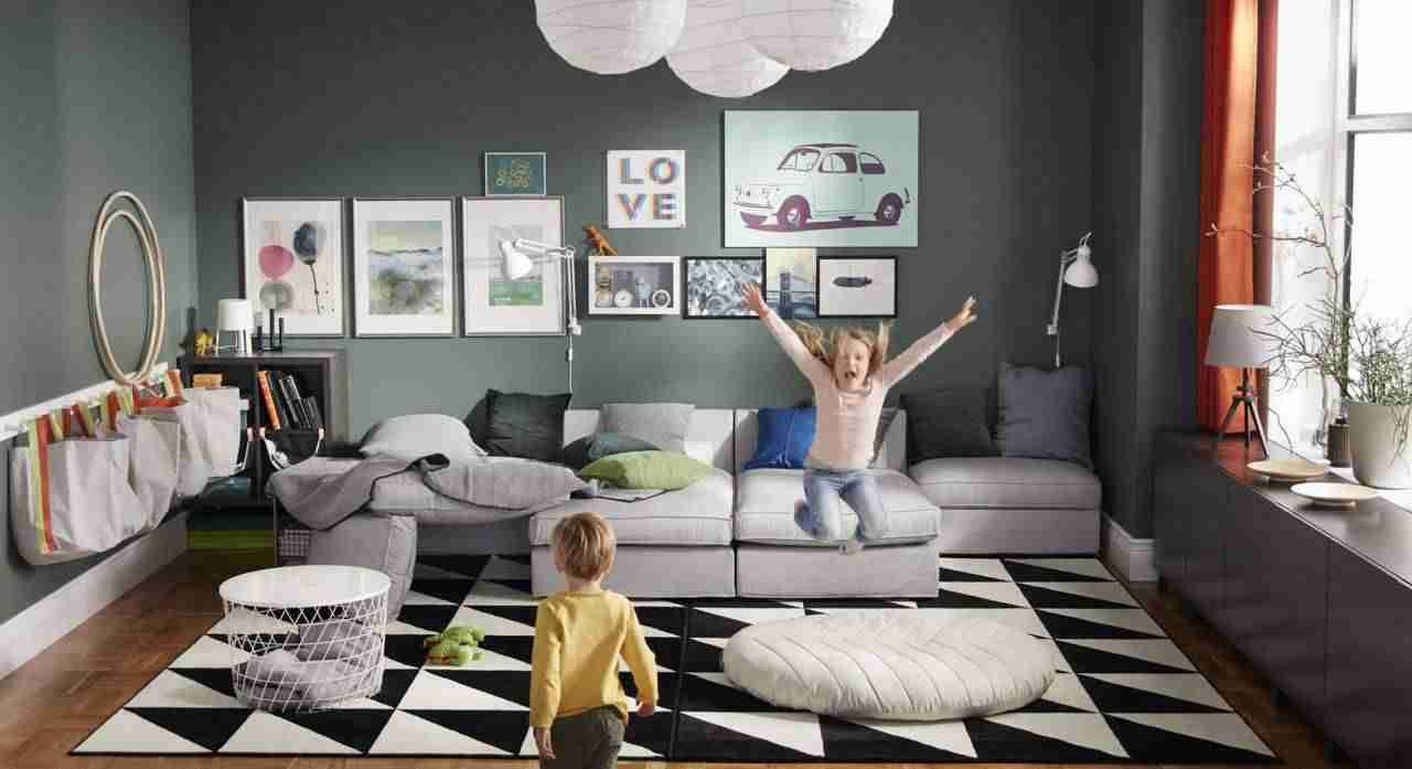 Decoración de salones IKEA para niños