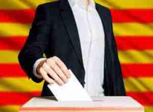Referéndum ilegal en Cataluña