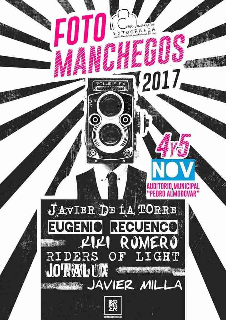 Cartel Foto Manchegos 2017