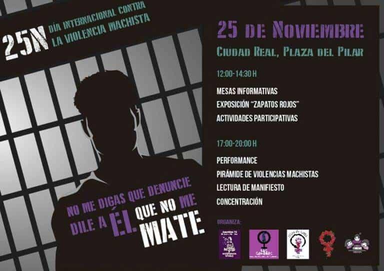 Asamblea 7N Alcázar y las Violeteras en el Día Internacional Contra las Violencias Machistas