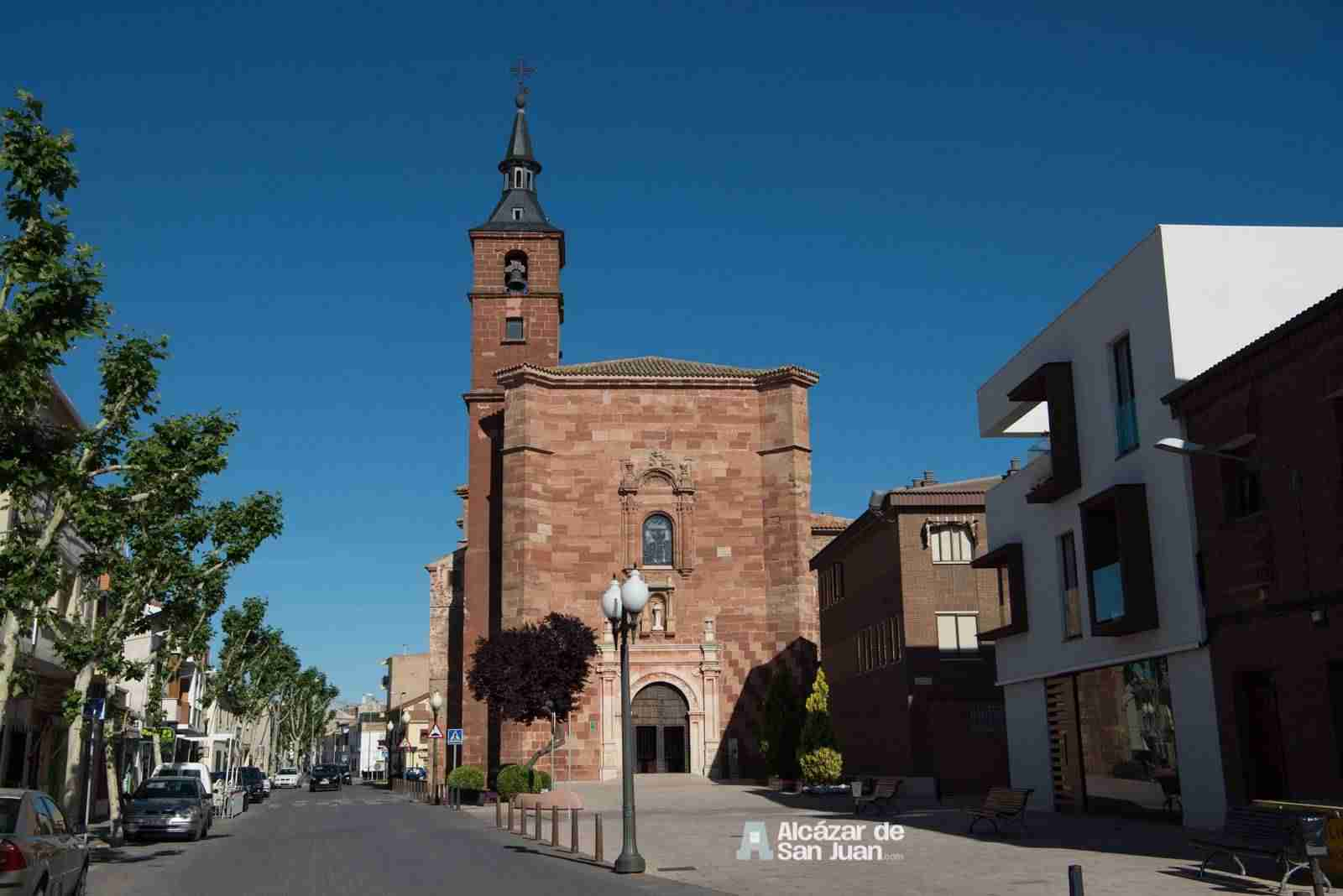 Iglesia de San Francisco en Alcázar de San Juan (Ciudad Real)