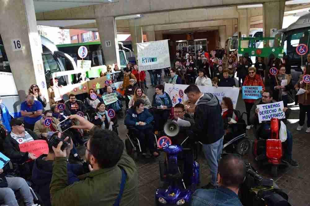 Las Personas Con Discapacidad De Ciudad Real Reivindican