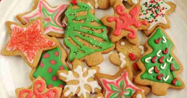 Postres de Navidad - Galletas de Navidad