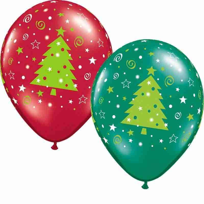 Juegos de Navidad - globo a la fuga