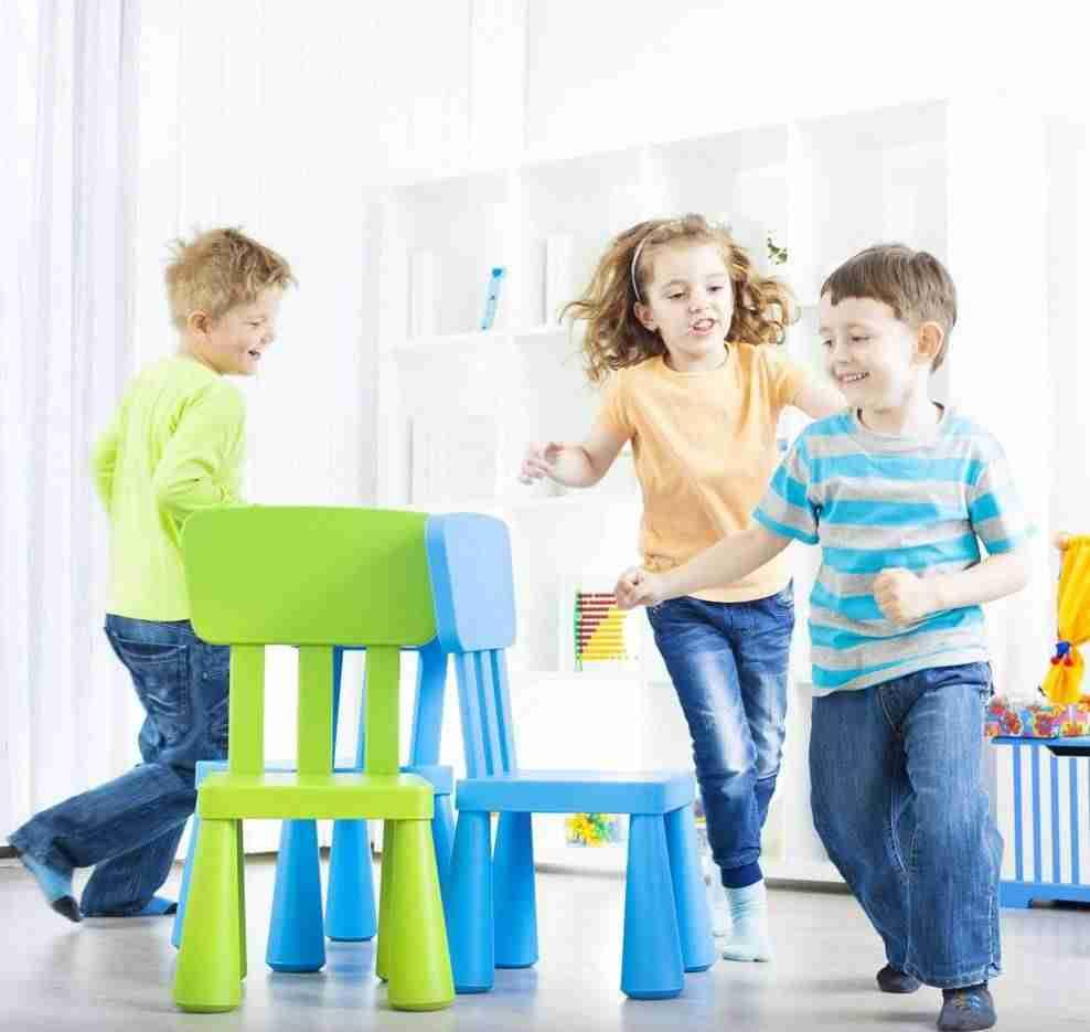 Juegos de Navidad- juego de la silla