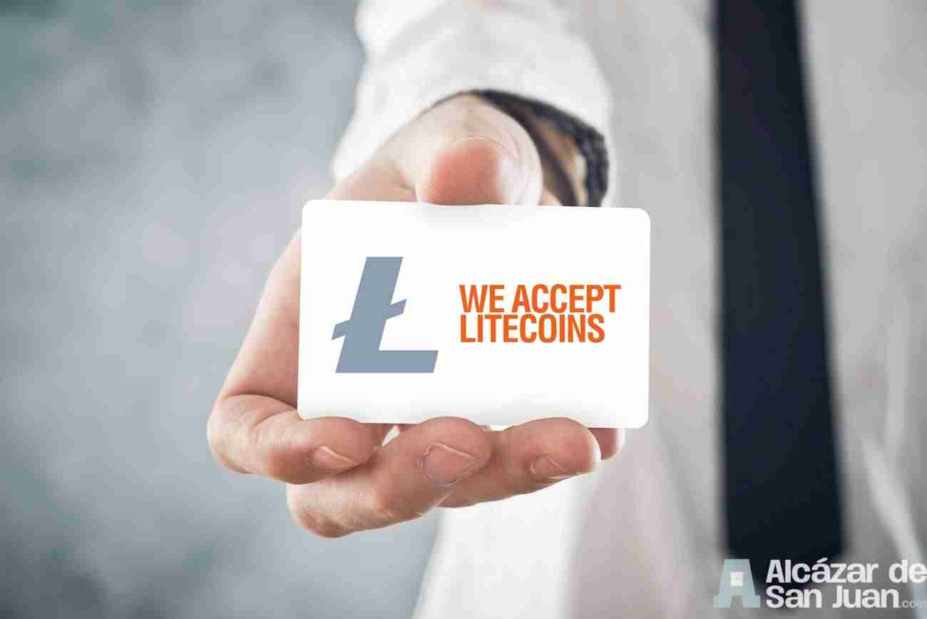 Aceptamos Litecoin