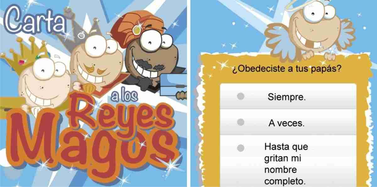 Reyes Magos - carta
