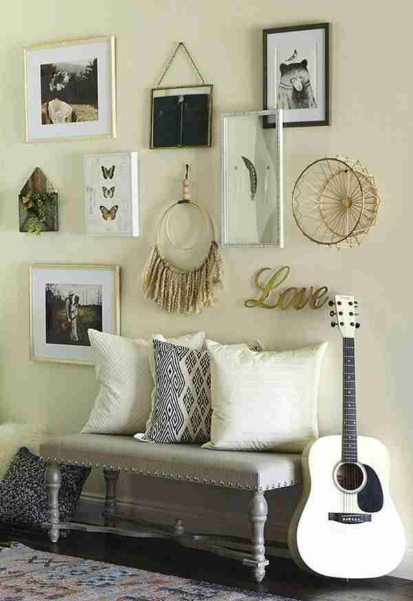 6 ideas geniales para personalizar tu galería de cuadros en casa 4