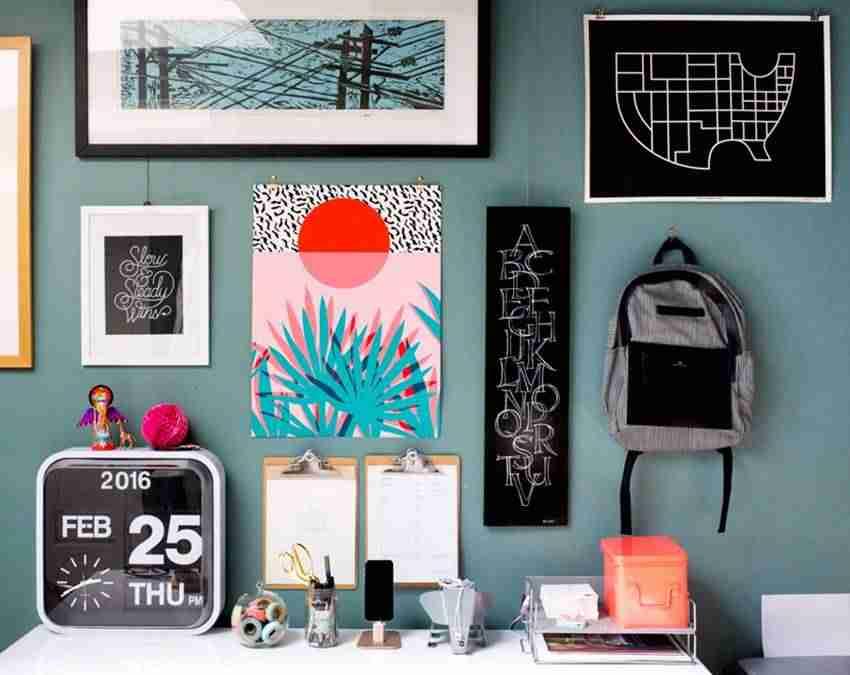 6 ideas geniales para personalizar tu galería de cuadros en casa 1