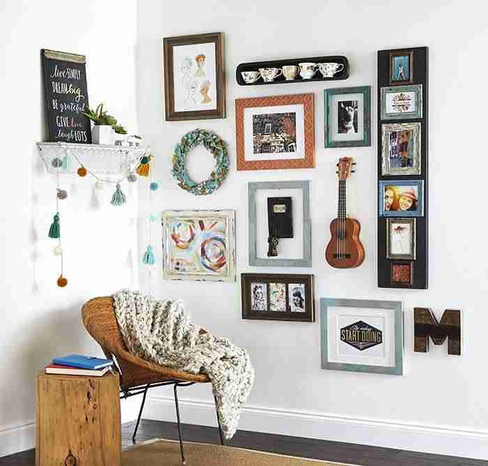 6 ideas geniales para personalizar tu galería de cuadros en casa 7