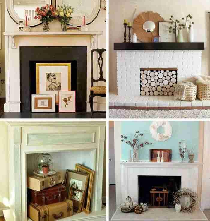 Al calor del hogar 7 chimeneas falsas para decorar tu sal n - Chimeneas falsas decorativas ...