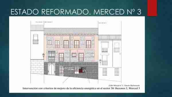 Estado reformado Calle Merced