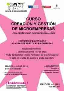 Curso Creación y Gestión de Microempresas 1