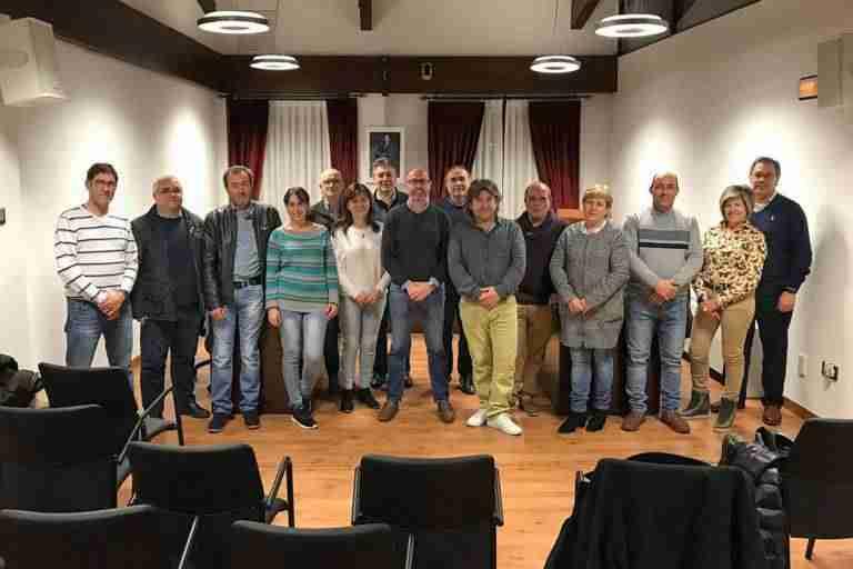 La Comisión de Gobierno de Comsermancha visita de forma rotatoria los municipios que la integran