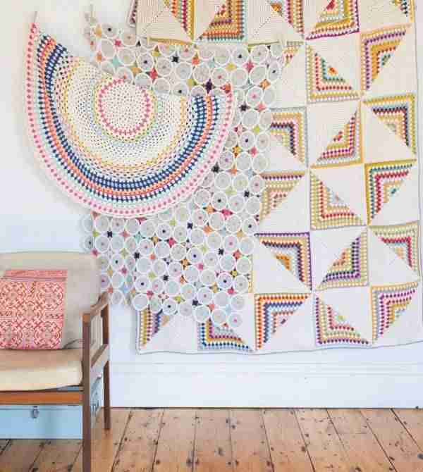 Cómo decorar con crochet y llenar tu casa de color