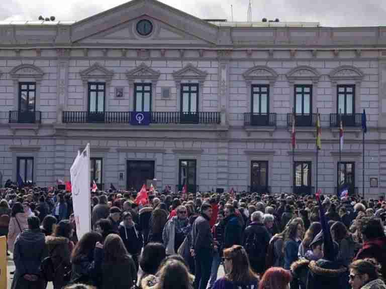 El SOV de CGT Alcázar felicita al movimiento feminista comarcal y provincial