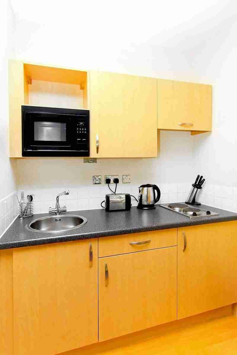 Cocinas peque as en espacios reducidos for Cocinas para espacios pequenos