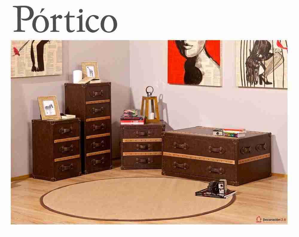 P rtico decoraci n y muebles una tienda que marc tendencia - Muebles portico ...