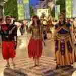 Alcázar vivió unas vistosas y coloridas fiestas de Moros y Cristianos en las que participaron más de 200 personas 10