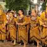 Alcázar vivió unas vistosas y coloridas fiestas de Moros y Cristianos en las que participaron más de 200 personas 30